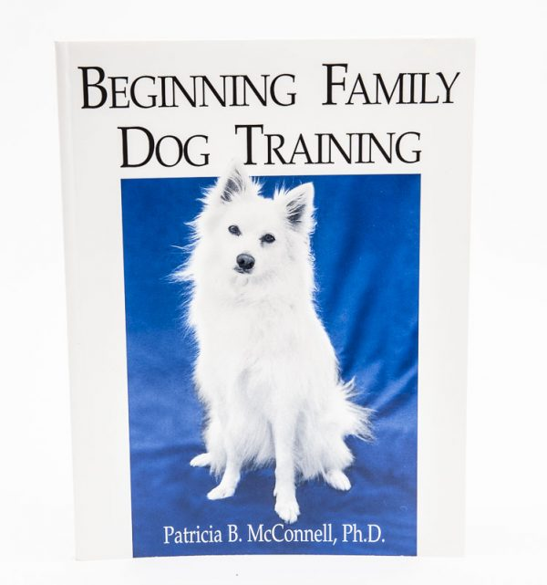 beginning family dog training book