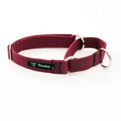 martingale collar - maroon spun poly