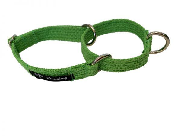 collar spun light green