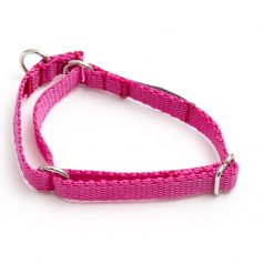 martingale collar - pink poly