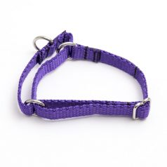 martingale collar - purple poly