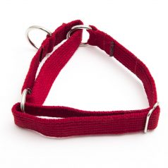 martingale collar red