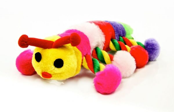 pup tug toy caterpillar