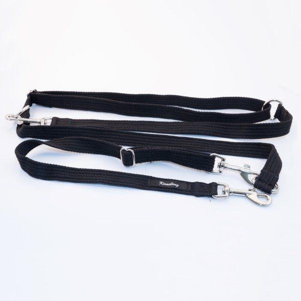 waist brace lead black
