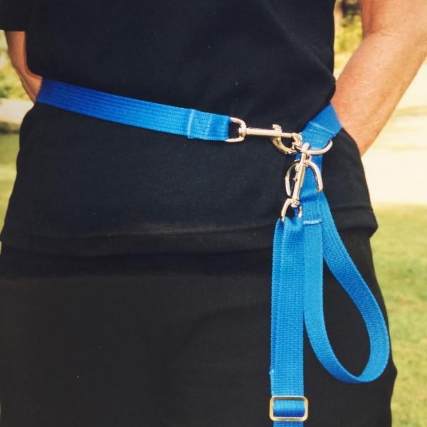 waist brace lead blue